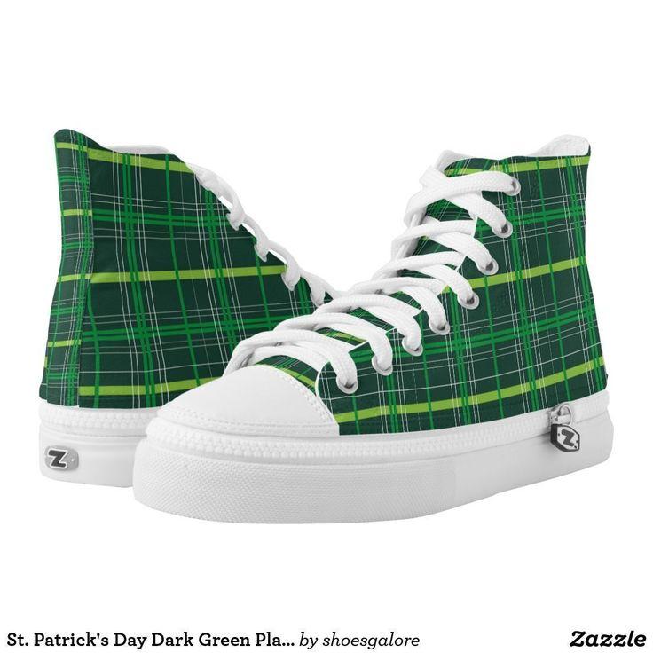 St. Patrick's Day Dark Green Plaid #stpatricksday st.patricks day #shamrock #sneakers saints patricks day outfits #womensday shoes sneakers Shoes heels shoes teen shoes flats shoes boots womens shoes sneakers womens shoes flats womens shoes high heels womens shoes casual womns shoes for work mens shoes casual mens shoes with jeans mens shoes dress st patricks day shoes  #shoesoftheday #shoes zazzle produtc #irish #womensshoes #mensshoes #heels #boots canvas shoes #canvasshoes #zazzle…