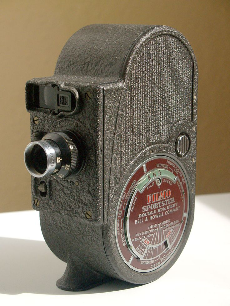 Bell and Howell Filmo Sportster 8mm Movie Camera   by Casual Camera Collector