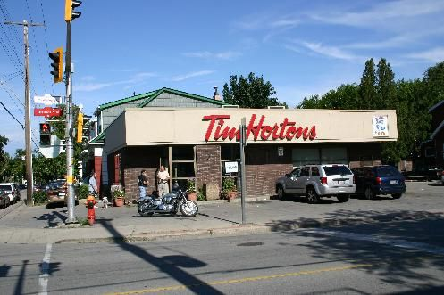 Where it all began... First Tim Horton's Location, Hamilton, Ontario, Canada