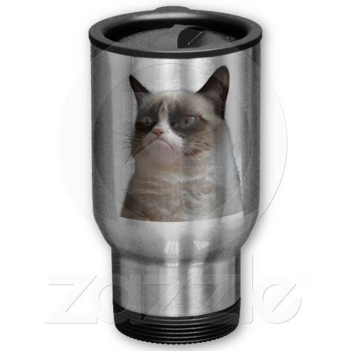Grumpy Cat Travel Mug-$23.25
