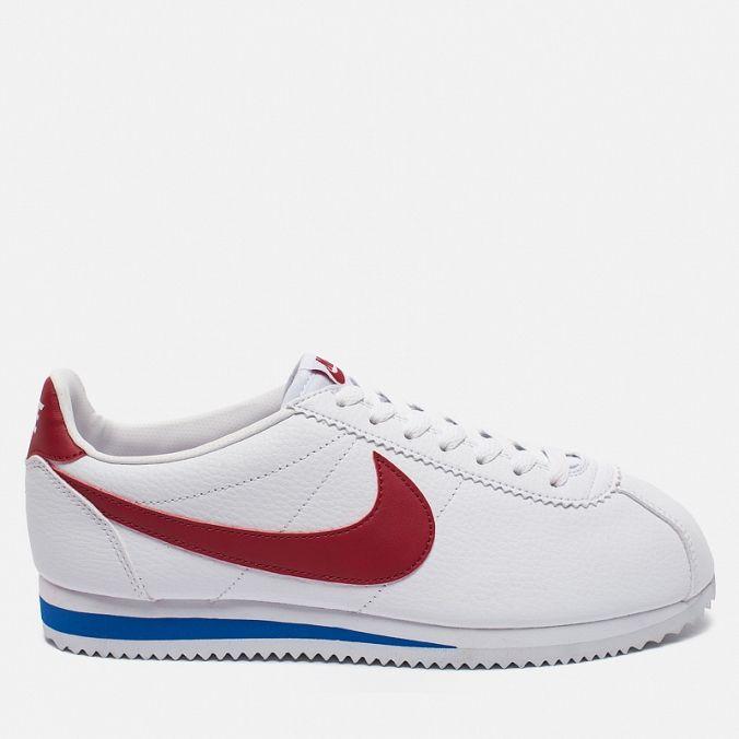 Мужские кроссовки Nike Classic Cortez Leather White/Varsity Royal/Varsity Red