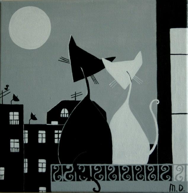 At Night by Maya Dvalishvili