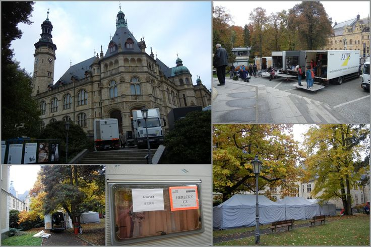 Liberec: Severočeské muzeum, filmaři v muzeu