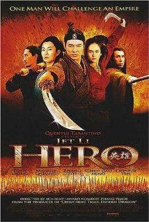 Hero (2002) Poster: Even though the story is pure fiction, the setting is historical, and I love the concept!! The style and cinematography is outstanding... Music by Itzak Perlman is superb.