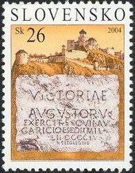 Sello: Roman Legions in Trenčín (Eslovaquia) Mi:SK 493,AFA:SK 474,POF:SK 334
