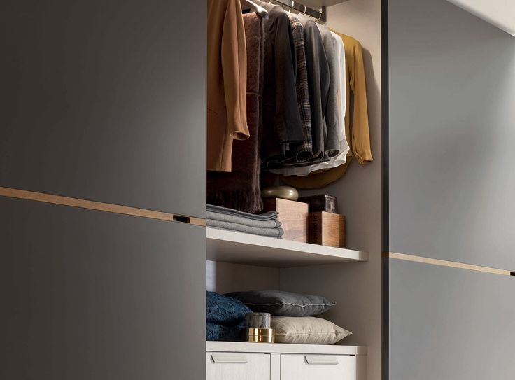 Middle, Wardrobes, Products   Novamobili. Originality evident in every detail.  #wardrobe by #Novamobili. #interior #design #aboutWARDROBE #slidingdoor