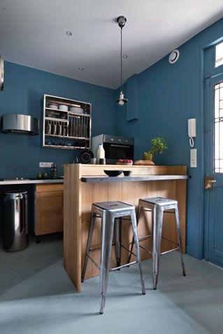 Avant - après : découvrez des idées futées pour aménager au mieux un petit espace de 34 m2. Résultat en images.