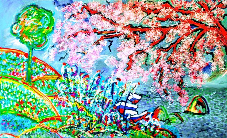 Tentación Acrílico y Mixta sobre tela 130 x 90 cm 6200 US$