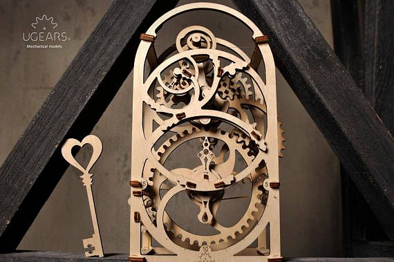 Build Your Own Working Model Chronograph Timer By Ugears Etsy Mechanical Model Model Kits For Adults Fantastic Gifts