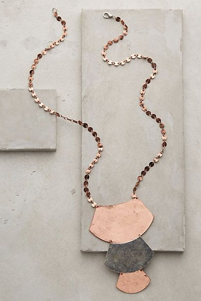 Sabal Arc Necklace #anthropologie