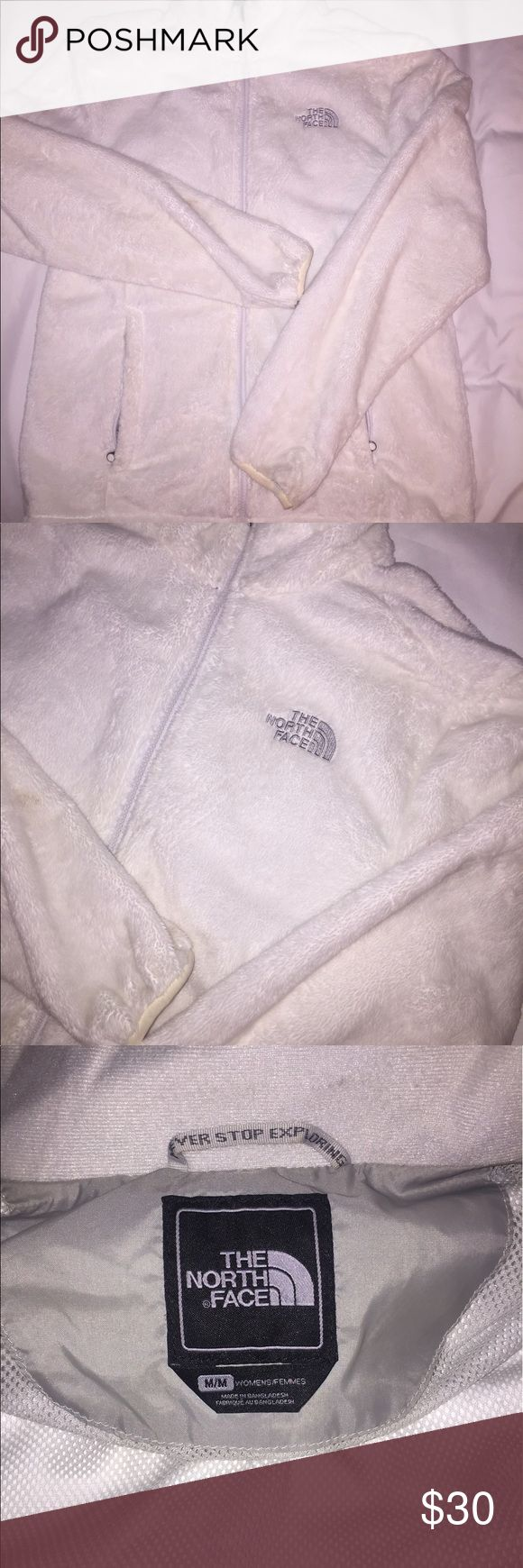 North Face Winter Jacket Lightweight super soft North Face jacket, women's size M. About 7 years old. In good condition other than some wear on the sleeves. Jackets & Coats Utility Jackets