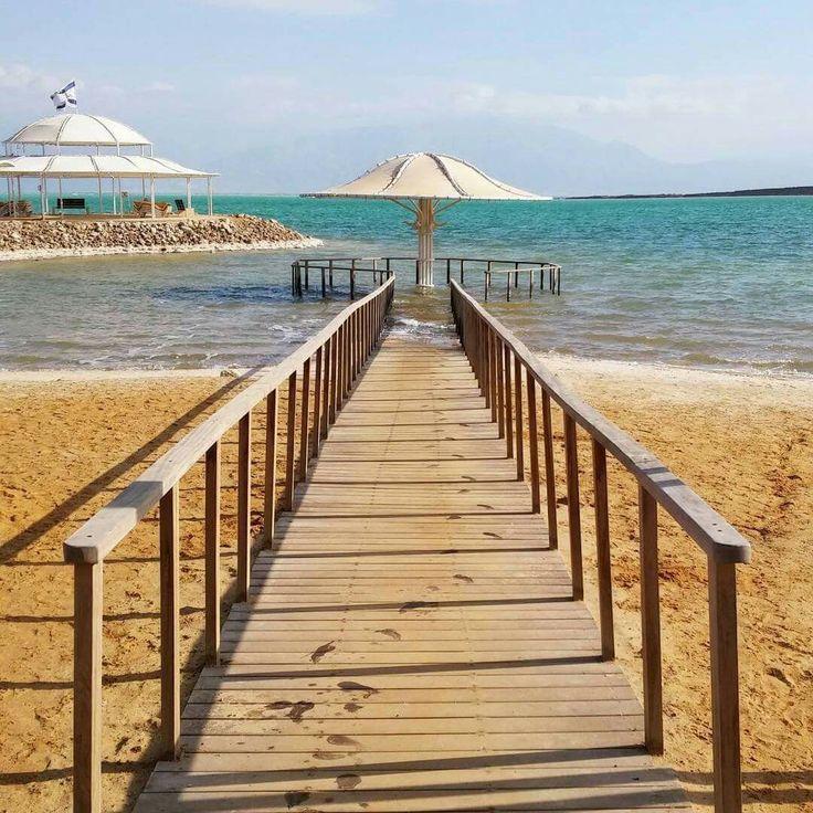 Un passaggio verso l'infinito. Sulle rive del  Mar Morto (#Israel)