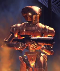 HK-47 Assassin Droid Created by Darth Revan.