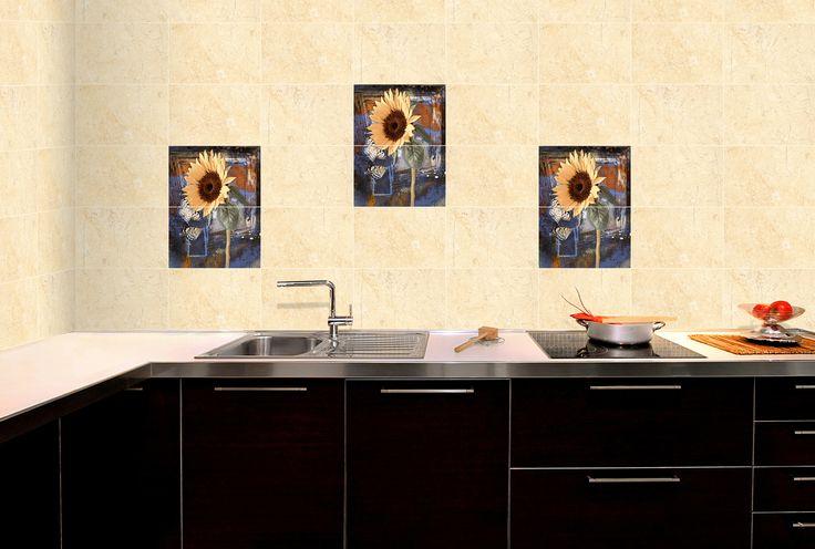 Exceptionnel ODH Sun Flower 1 2 HL   #Tiles For #Kitchen