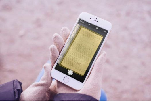 Comment scanner un document avec Notes sur iOS11?