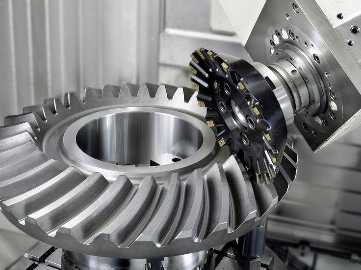 Gleason-Heller CP 4000 - 5-axis Machining Center / 5-Achsen Bearbeitungszentrum /