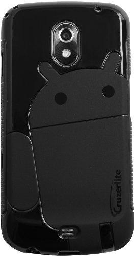 Black - Cruzer Lite Androidified A2 TPU Case - For Samsung Galaxy Nexus (SCH-i515  GT-i9250)