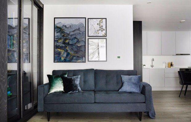 Показываем на примере реальной квартиры в Лондоне, как с помощью простых и действенных приемов можно зрительно добавить обстановке статуса и шика