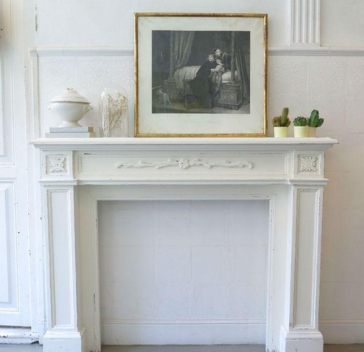 17 mejores ideas sobre chimenea blanca en pinterest - Madera para chimenea ...