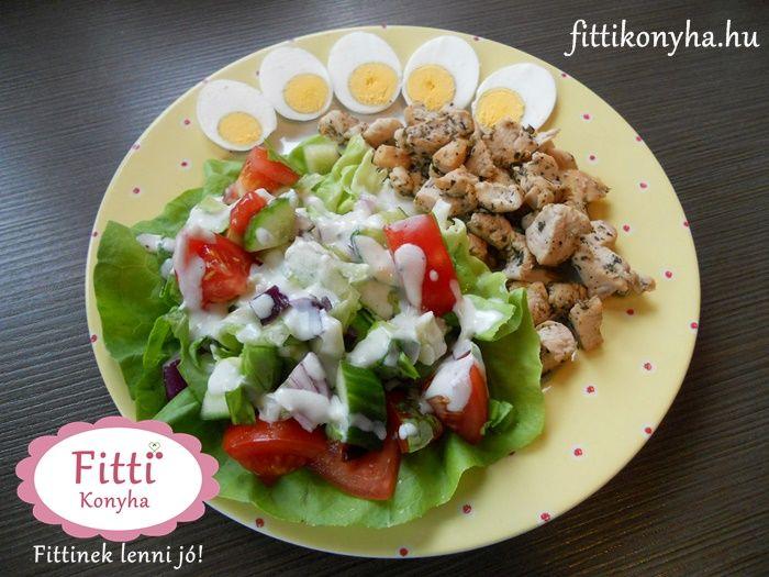 Csirkemell saláta - Szilvi ÍzVilág