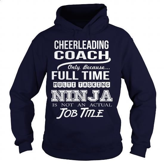 CHEERLEADING-COACH #Tshirt #clothing. PURCHASE NOW => https://www.sunfrog.com/LifeStyle/CHEERLEADING-COACH-97411720-Navy-Blue-Hoodie.html?60505