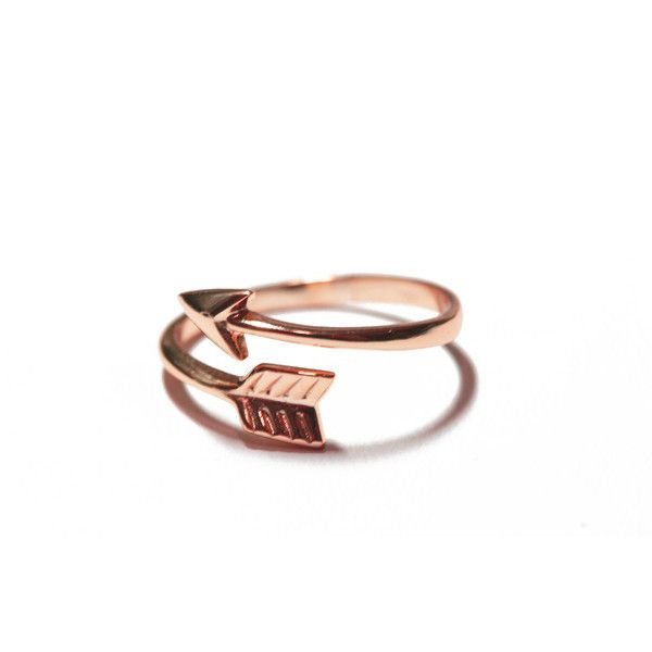 Rose Gold Vermeil Arrow Ring