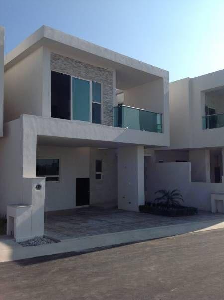 The 25 best fachadas minimalistas ideas on pinterest - Fachadas casas minimalistas ...