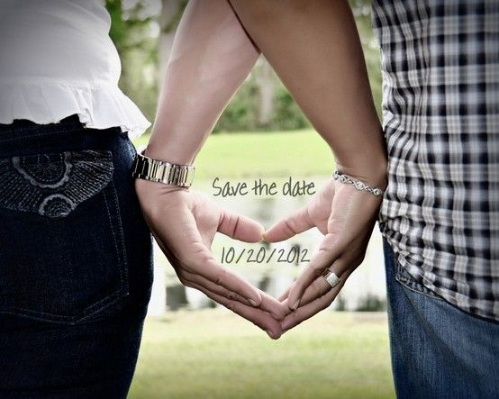 Save the date idea by meredith