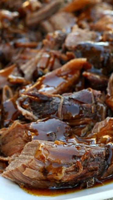 Balsamic Glazed Roast Beef Recipe ~ Leftovers (if you have any) make ...