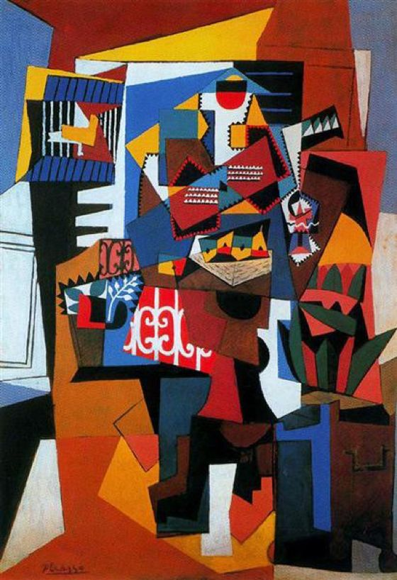 The bird cage, 1944 Pablo Picasso
