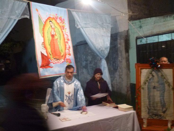 Unidos en la Fe celebramos el día de ayer la Eucaristía, Vísperas de la Solemnidad de Nuestra Señora de Guadalupe.