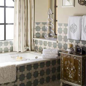 ванная комната в марокканском стиле 26
