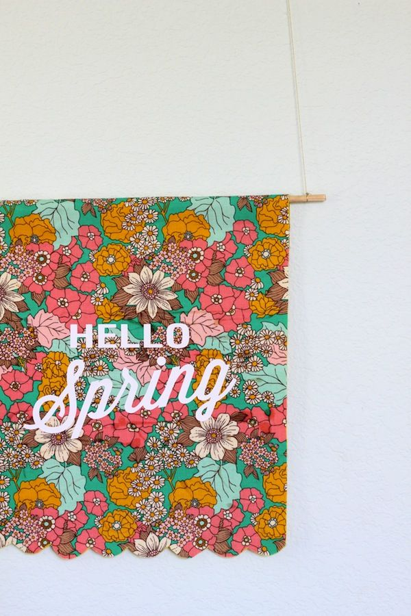 a hello spring banner is my fave