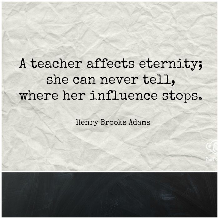 Henry Brooks quote about Teachers
