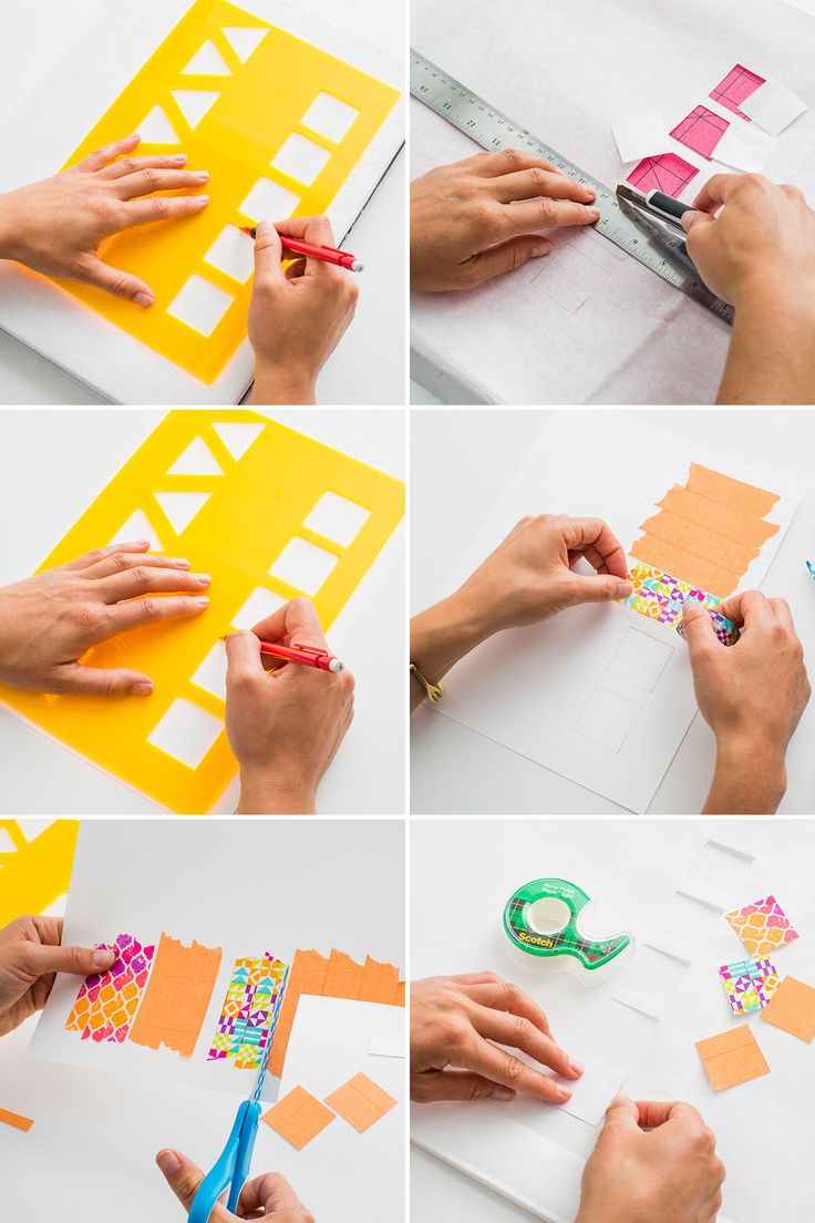Diy notebook covers so your books and you will stand out at school -  Tbt Make Old School Book Covers With Colorful Tape