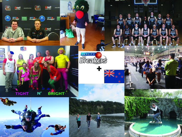Roland's experience and internship in New Zealand captured in one picture
