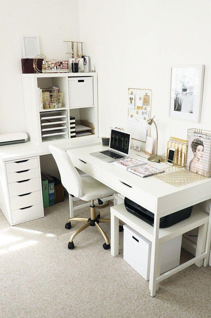21 Awe Inspiring Ikea Desk Hacks That Are Affordable And Easy Ikea Desk Printer Home Office Organization Home Office Design Living Room Sets Furniture