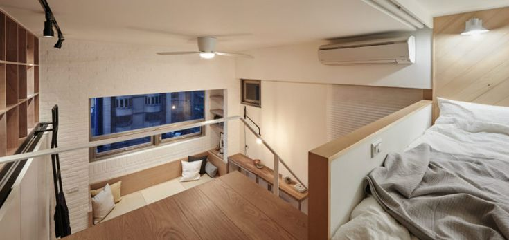 Functional lighting include track lights and a ceiling fan lamp
