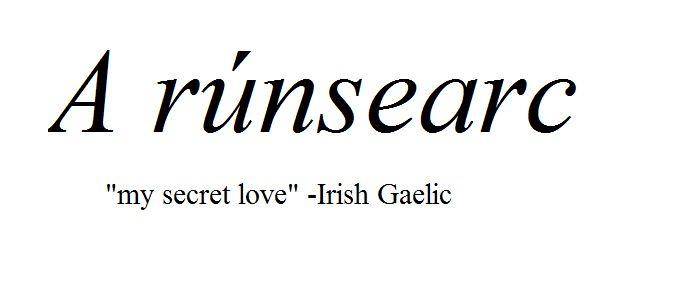 Famous Irish Sayings in Gaelic and English