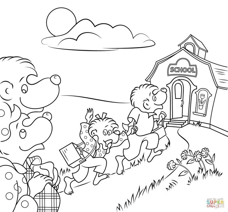 Luxury Berenstain Bears Art Coloring Pages Pbs Kids Ornament ...