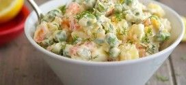 Russian Salad Recipe By Zubaida Tariq