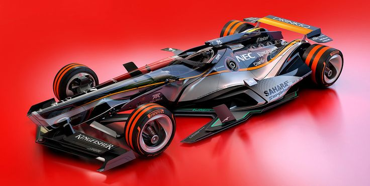 Superb F1 2030 Fantasy Force India Racing Livery Design. We Collect And Generate  Ideas: Ufx