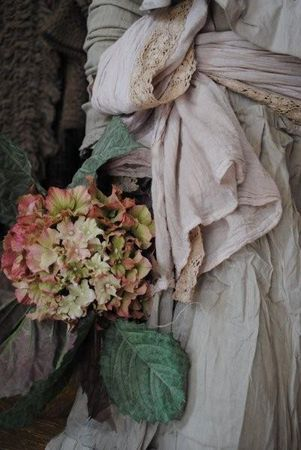 ,Lovely- The only way to garden is in a lovely frock with a sash and a little lace