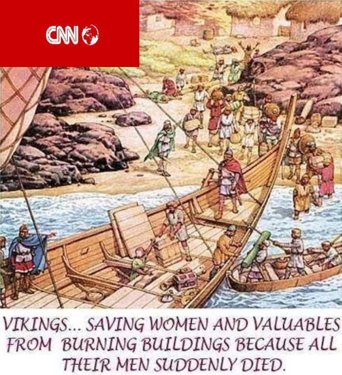 Cnn Reporting Vikings Viking Age Viking Life