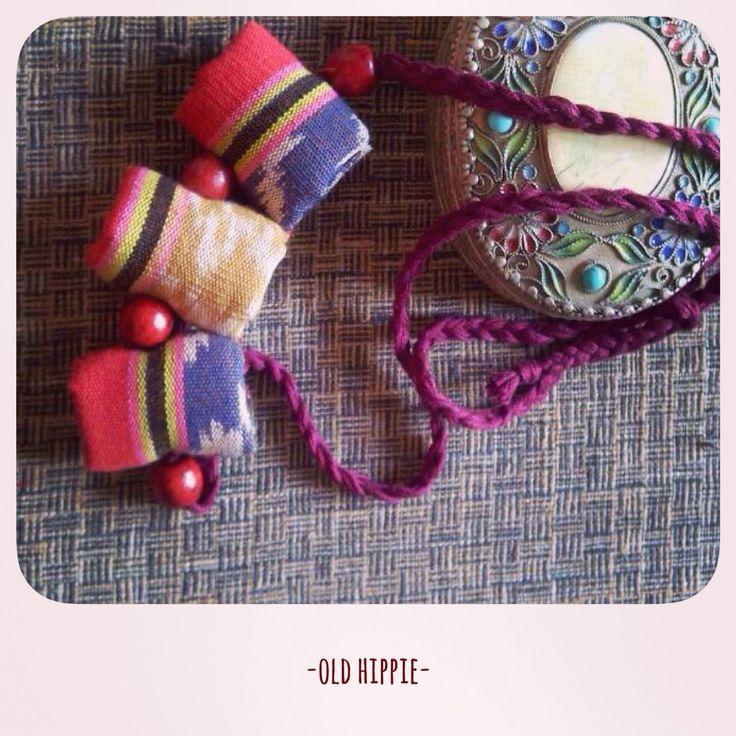 Tenun necklace for sale   Instagram:@oldhippie_online