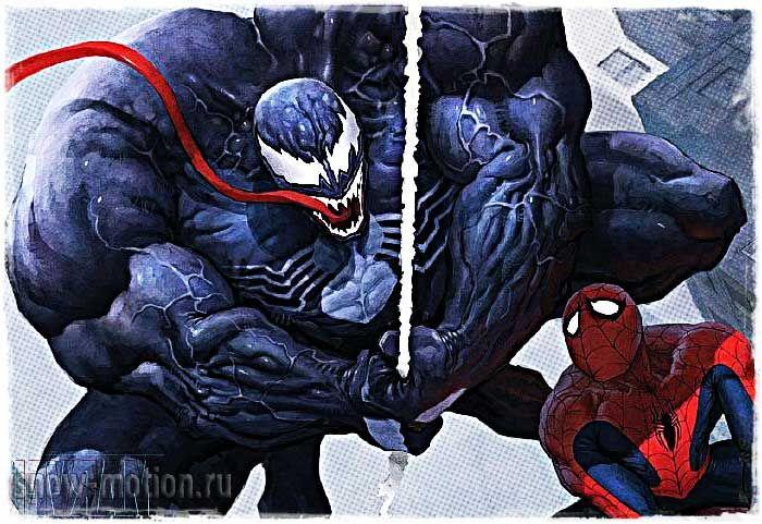 Человек паук веном