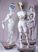 Przemysław Lasak - From the cycle 'She', ceramics