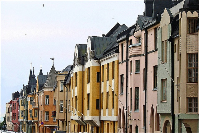 Jugend architecture in Eira.
