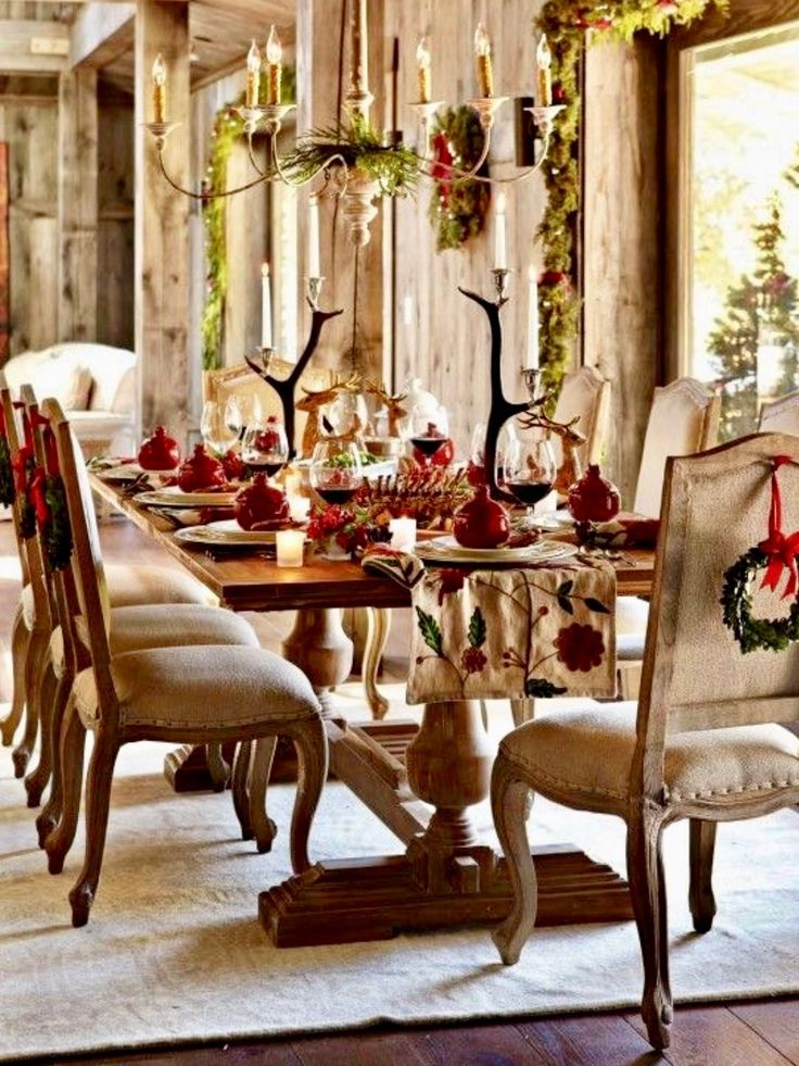 Christmas Dining Room Table Decoration Ideas 946 best christmas table decorations images on pinterest