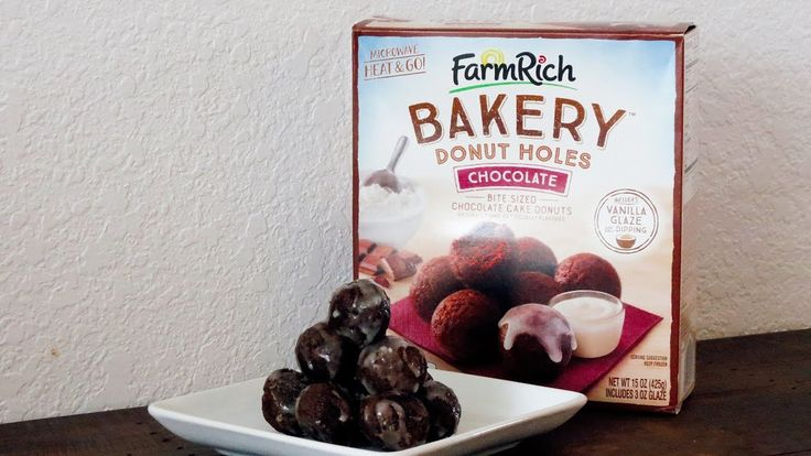 Even more delicious than they are easy to make! Yummy Chocolate Glazed Donut Holes. :)